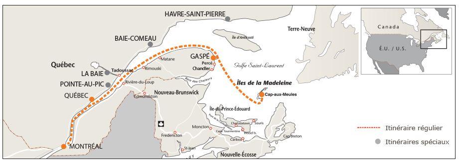 Неизбитые туристические маршруты Квебека. Круиз lile de la madelaine