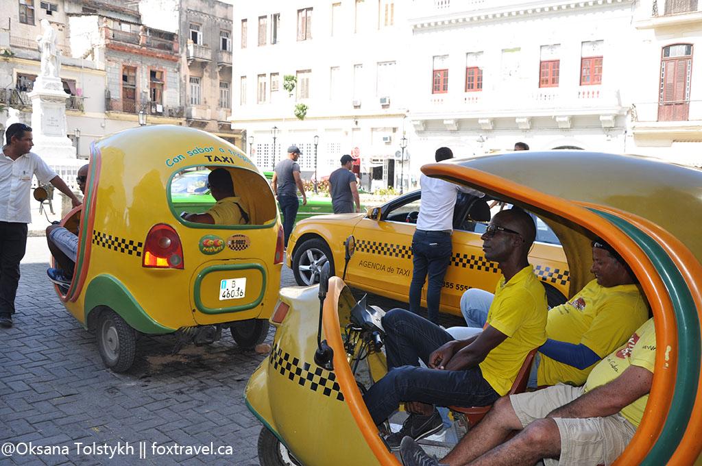 Taxi drivers in Havana