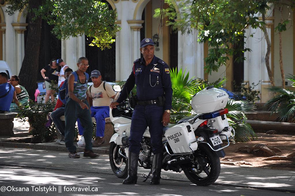 Несвободные люди Острова Свободы. Havana police