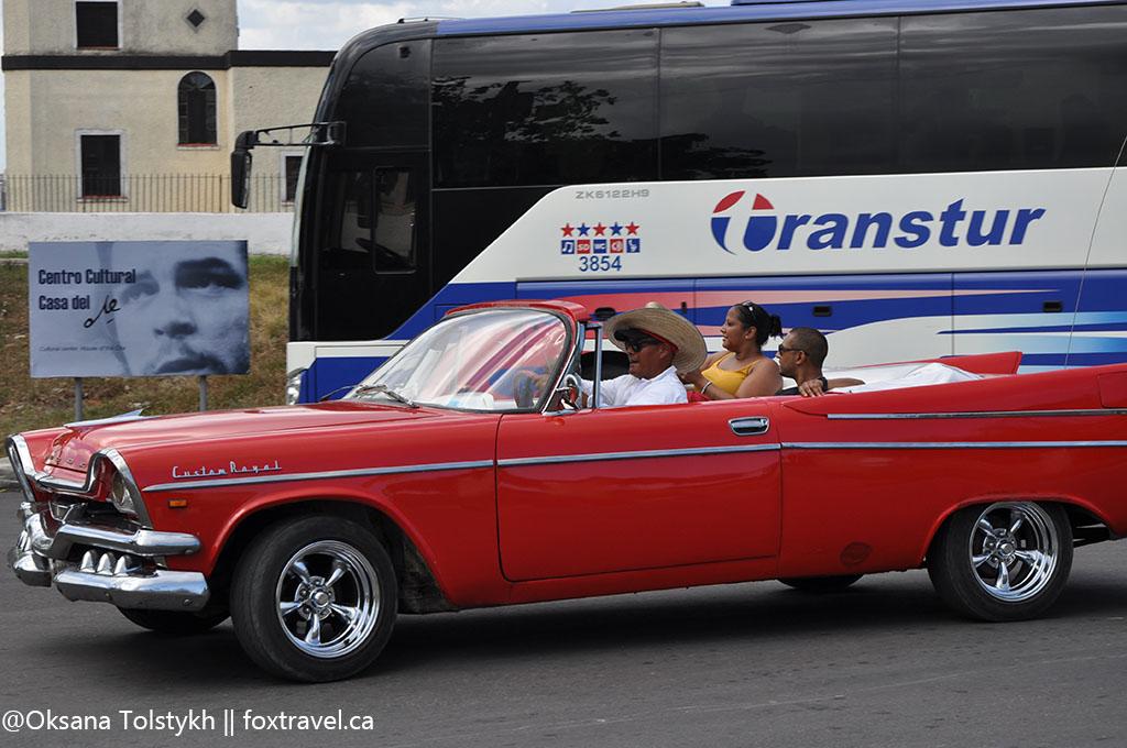 Символ Гаваны - кабриолет!