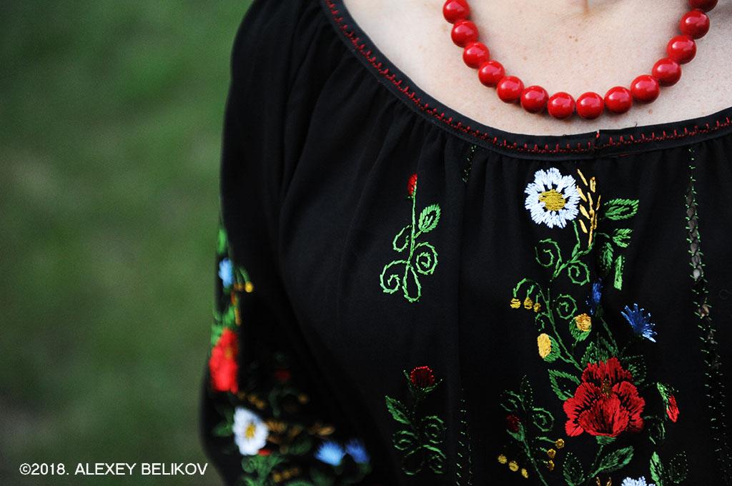 Вышиванка. Украинский этно-стиль